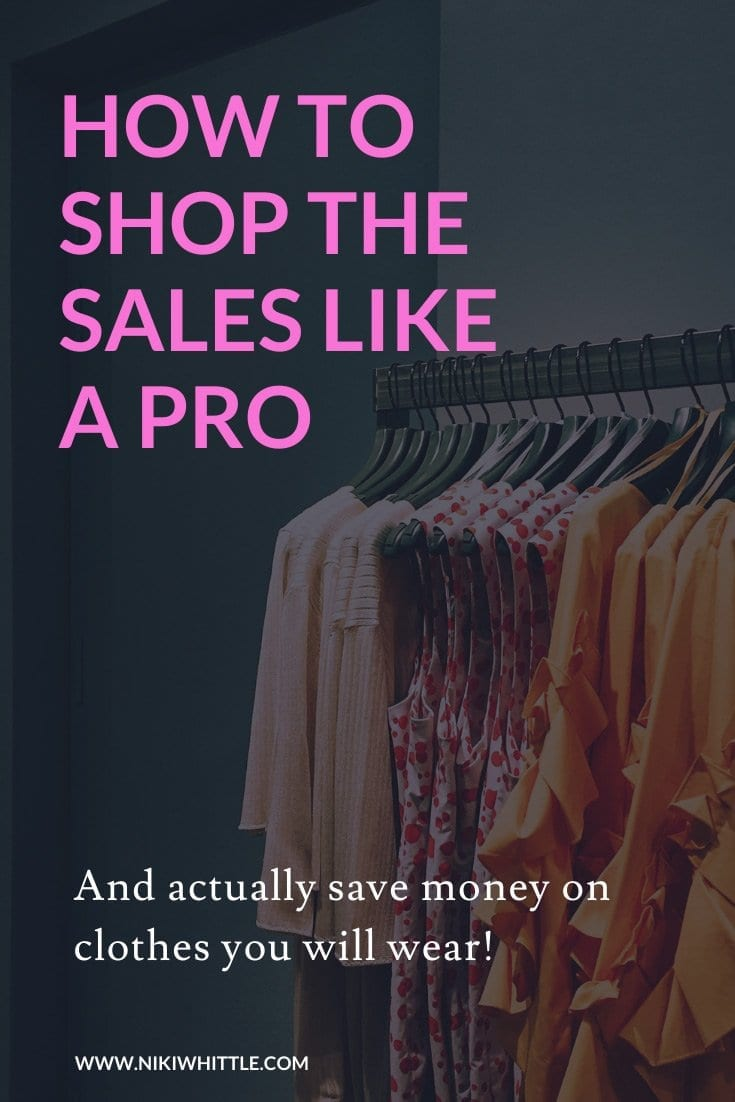clothes on a rale during sale time