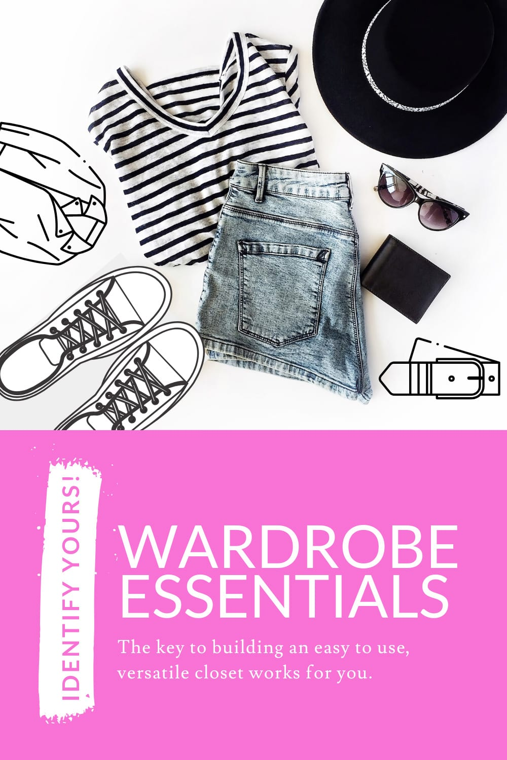 How to choose the right wardrobe essentials for your capsule wardrobe