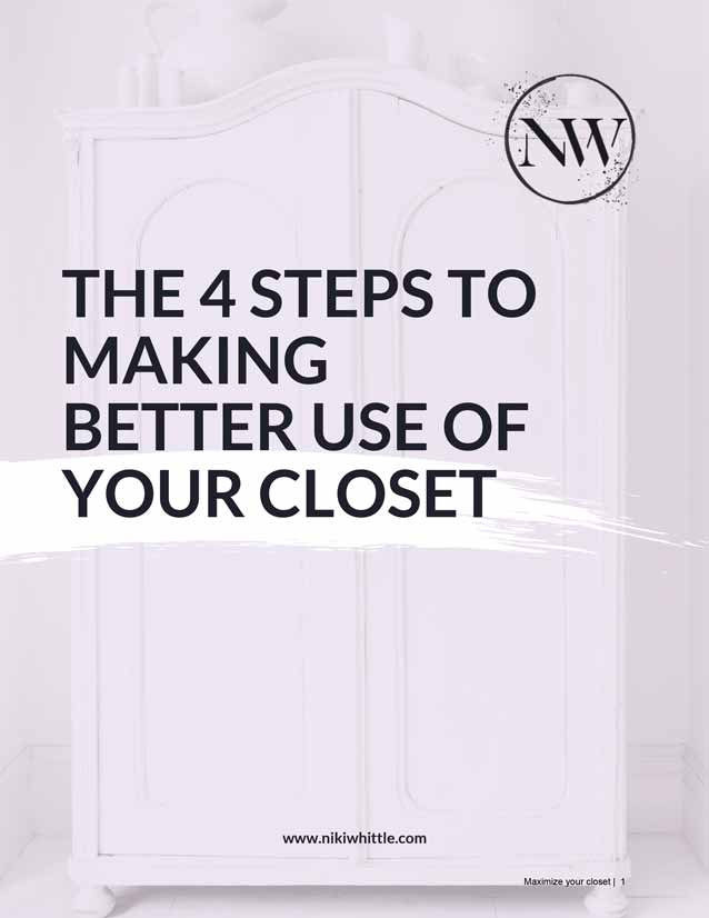 These 4 steps will help you detox your wardrobe and unlock the potential hiding inside, by reworking your existing wardrobe and making new outfits with your old clothes.